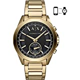 Armani Exchange Men's Quartz Stainless Steel Smart Watch, Color:Gold-Toned (Model: AXT1008) Review