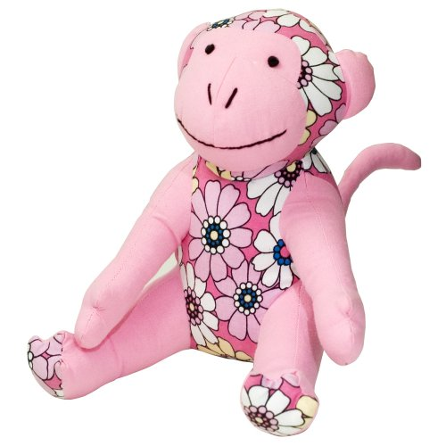 Mica Bear (Color Zoo Mica The Monkey Stuff Toy, Pink Dreams)