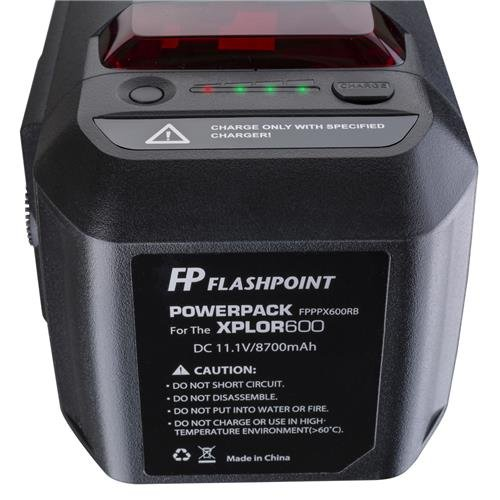 Flashpoint XPLOR 600 HSS Battery-Powered Monolight with Built-in R2 2.4GHz Radio Remote System (Bowens Mount) by Flashpoint (Image #3)