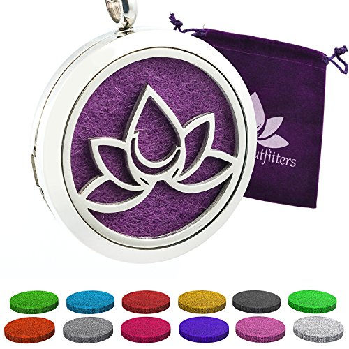 Essential Necklace Aromatherapy Fragrance Stainless