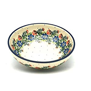 Polish Pottery Bowl – Contemporary Salad – Garden Party