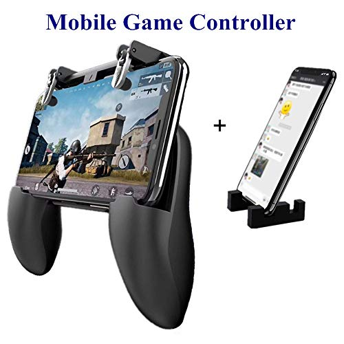 Mobile Game Controller - Aovon [Upgrade Version] Sensitive Shoot Aim Joysticks Gamepad with Magnetic...