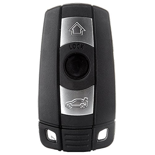 ECCPP 2X 3 Button Replacement Keyless Entry Remote Control Ignition Key Fob for BMW Series KR55WK49127 315MHz by ECCPP (Image #1)