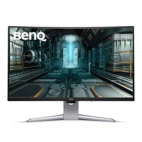 "BenQ EX3203R 32"" Curve HDR Gaming Monitor, WQHD, FreeSync2, Ultra Slim Bezel, Brightness Intelligence, USB-C"