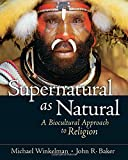 Supernatural as Natural 1st Edition