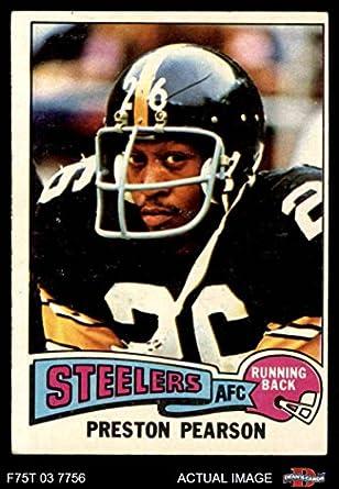 deda83704cb 1975 Topps   98 Preston Pearson Pittsburgh Steelers (Football Card) Dean s  Cards 4 -