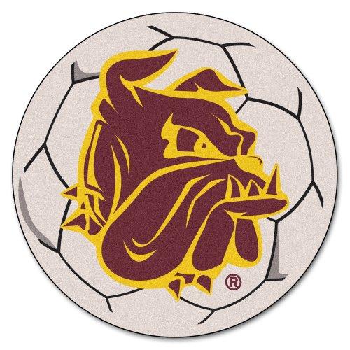 (FANMATS NCAA University of Minnesota-Duluth Bulldogs Nylon Face Soccer Ball)