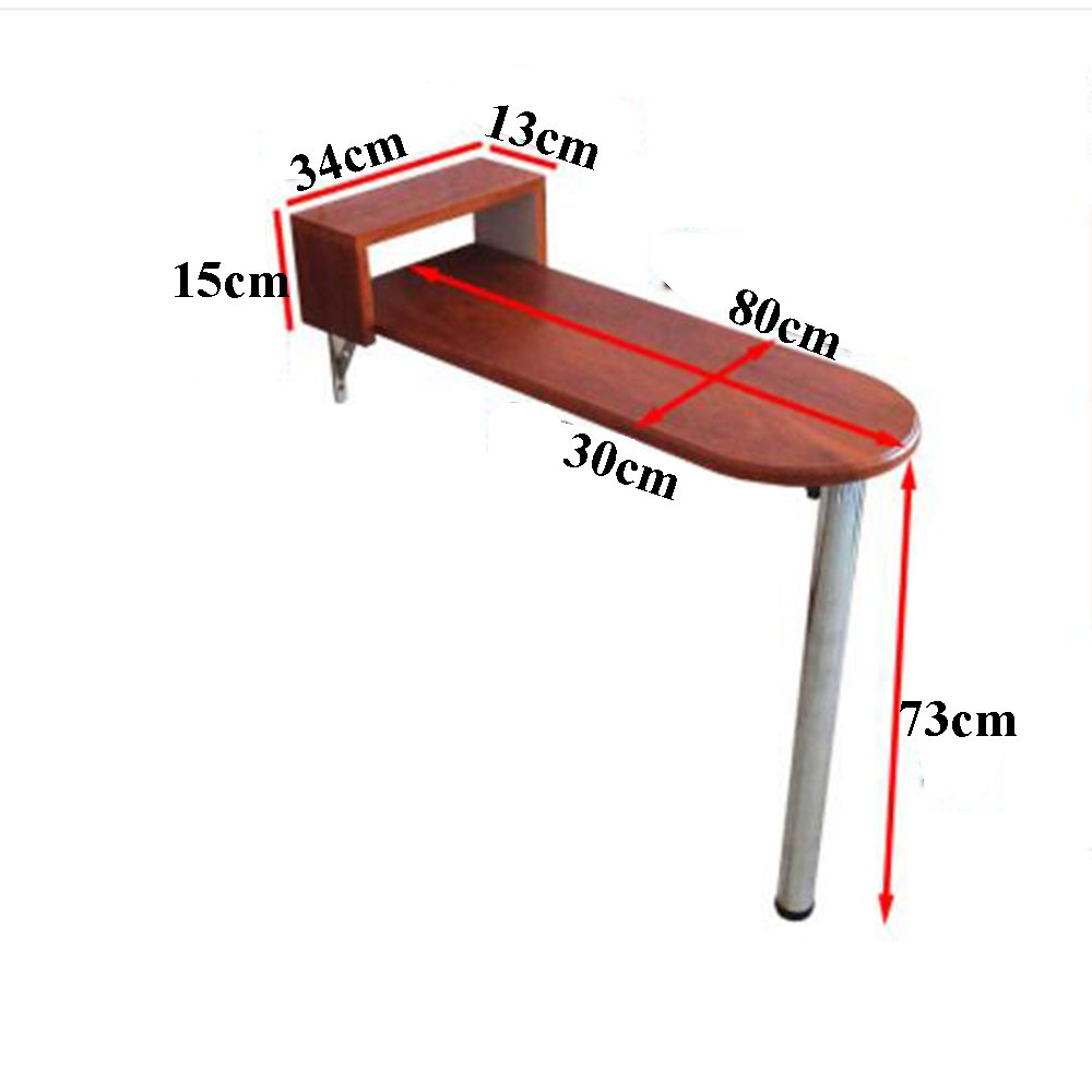 XIA 折り畳みテーブル 折りたたみバーテーブルの家庭のシンプルな壁のテーブルのコンピュータのデスク壁のテーブルのカフェバーのテーブルのキッチンラック 折りたたみテーブル (サイズ さいず : 116*40*110cm) B07CZ5RCQG 116*40*110cm 116*40*110cm