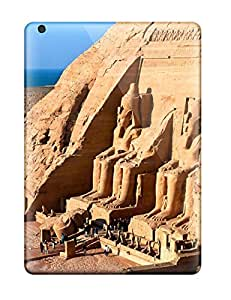 Fashion Tpu Case For Ipad Air- Abu Simbel Egypt Defender Case Cover