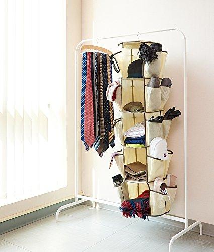 5 tier carousel nursery organizer ezoware collapsible for Nursery hanging storage