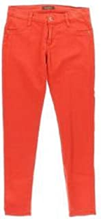 product image for James Jeans Twiggy The Leggings Scarlet RED Stretch Cotton Skinny Jean Jeggings Leggings SZ 24 New
