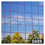 BDF S15 Window Film One Way Mirror Silver 15 (Dark) - 48in X 50ft