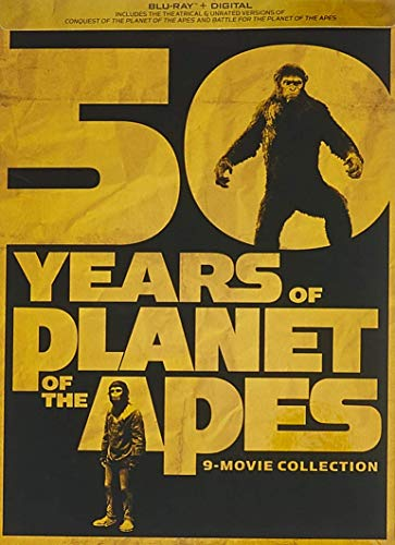 50 Years Of Planet Of The Apes: 9-movie Collection [Blu-ray] (Planet Blue-austin)