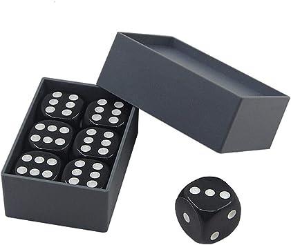 Enjoyer 7 Unids / Caja Predecir Dados Milagrosos Convierta Todos en 6 Trucos de Magia Dados Magic Child Toy Club Party Table Playing Games Juegos: Amazon.es: Juguetes y juegos