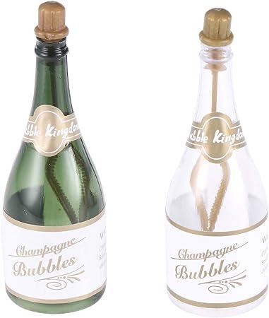 Bottiglie Bomboniere Matrimonio Prezzi.Amosfun 12pcs Champagne Bubbles Matrimonio Bubbles Bottiglie