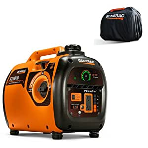 Generac iQ2000 Inverter Generator with Storage Cover Kit 6901 New
