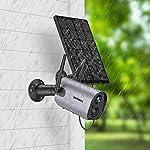 Zumimall Wireless Solar Powered Outdoor Security Camera