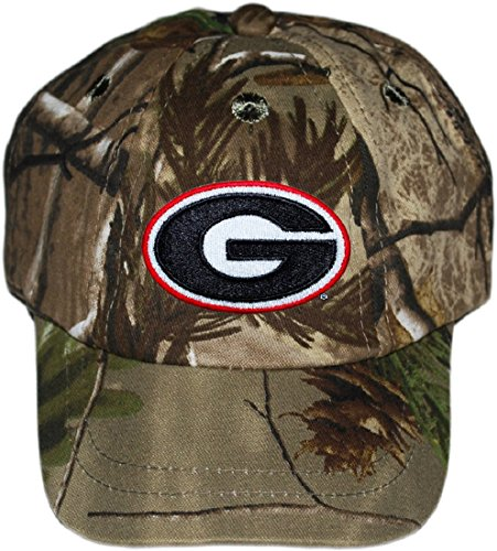 Georgia Bulldogs Circle G NCAA Realtree Camo Infant Newborn Toddler Baby Hat Cap