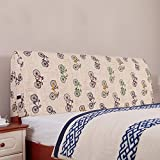 Cloth pillow / hotel bed removable removable European bedside cushions / large back pad / ( Size : 1805510cm )