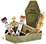 Halloween Gifts - Scary Coffee Gift Sets - Spooky Cocoa Gift Sets - Halloween Gifts for Children, Teens, Tweens, Preteens, Adults, College Students, Military (Coffin Break)
