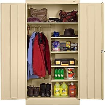Amazon.com : TNN7214PY - Tennsco Combination Wardrobe/Storage ...