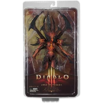 "Diablo - III Lord of Terror Deluxe Scale 9"" Action Figure, 12"" Poseable Tail"