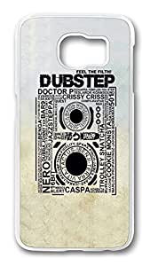 Brian114 Case, S6 Case, Samsung Galaxy S6 Case Cover, Dubstep Retro Protective Hard PC Back Case for S6 ( white )