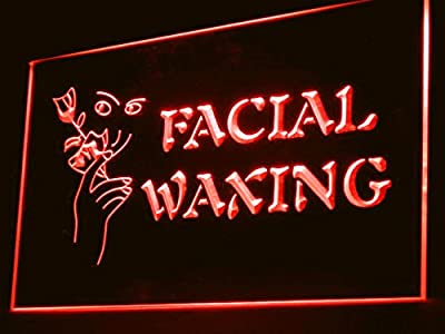 Facial Waxing Salon Shop Led Light Sign