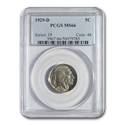 1929 D Buffalo Nickel MS-66 PCGS Nickel MS-66 PCGS