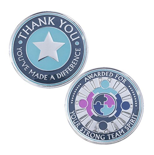 5-Pack-AttaCoin-Tokens-of-Appreciation-for-Teamwork-Staff-Appreciation-Gifts-175-Metal-Coins-Great-for-Employee-Appreciation-Teachers-Students-Coworkers