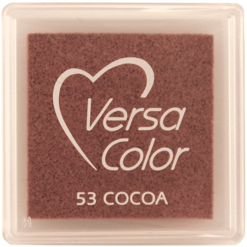 Tsukineko Small-Size VersaColor Ultimate Pigment Inkpad, Cocoa