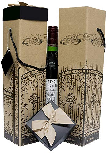 Amazon Com Wine Gift Box X2 Reusable Caddy Easy To Assemble
