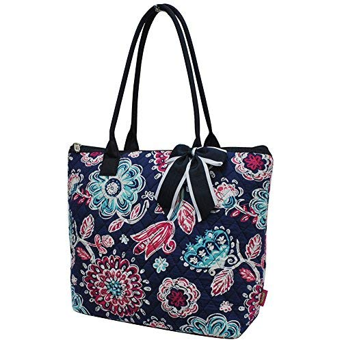 Medieval Blossom NGIL Quilted Tote - Tote Quilted Large Bag
