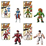 Funko Savage World: Bundle of 4: Street Fighter - Ryu, Blanka, Chun-Li and M Bison