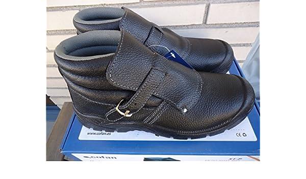 Cofan 12001242 Bota Seguridad con Hebilla, S1P, T-42: Amazon.es: Bricolaje y herramientas