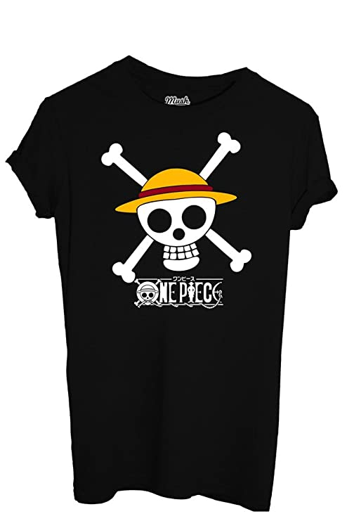 T-SHIRT ONE PIECE RUBBER CAPPELLO DI PAGLIA-CARTOON by MUSH Dress Your Style 321bb947f709