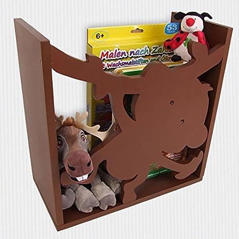 Kinderregal AFFE Spielzeugregal Wandregal Regal Kinderzimmer ...
