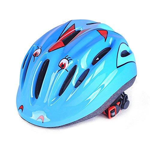 Yiwa enfant Tête casque de protection de sécurité équipement de protection de tête pour Roller-skating patinage escalade extérieur Training Sports