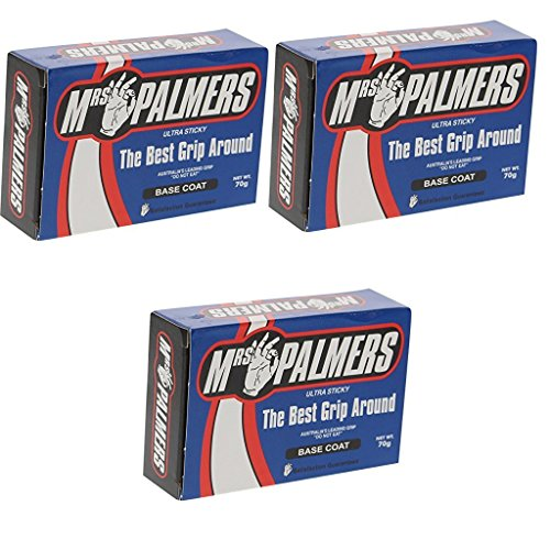 MRS. PALMERS SURF WAX BASE COAT 3 PACK
