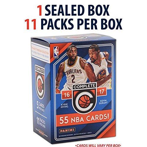NBA All Teams 2016/17 Panini Complete Basketball Blaster Box, Black, Small