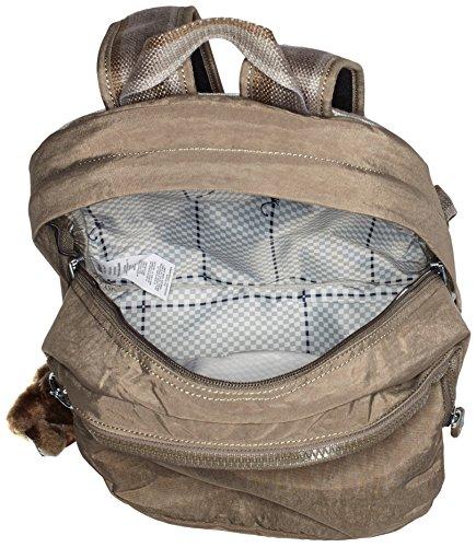 C Challenger Soft Women's Brown Clas Earthy Kipling Backpack wP0qUPFx