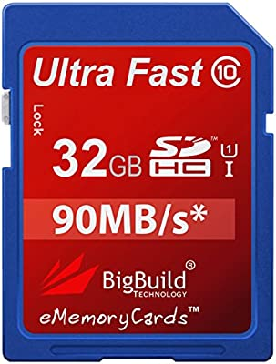 MemoryStar - Tarjeta de memoria SDHC ultra rápida para cámara ...
