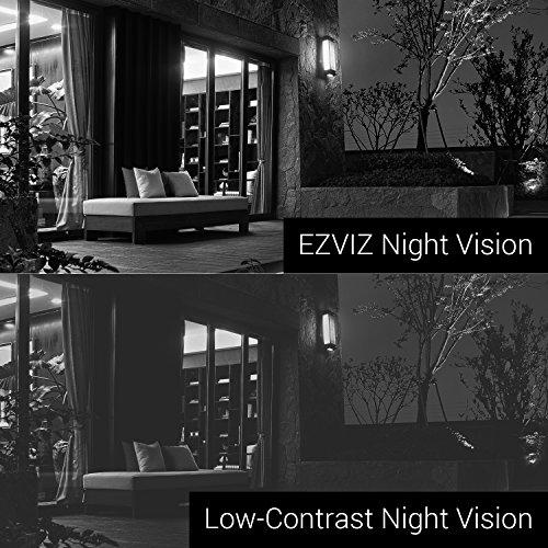 EZVIZ FULL HD 1080p Outdoor Surveillance System, 4 Weatherproof HD Security Cameras, 4 Channel 1TB DVR Storage, 100ft Night Vision, Customizable Motion Detection by EZVIZ (Image #7)
