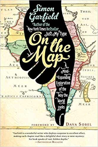 Amazon on the map a mind expanding exploration of the way the amazon on the map a mind expanding exploration of the way the world looks ala notable books for adults 9781592407804 simon garfield books gumiabroncs Images