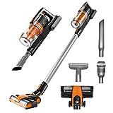 hardfloor cordless vacuum - VViViD Rev Bigfoot Turbo 2 Cordless Vacuum Cleaner (orange)