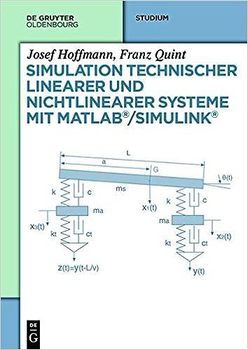 Book Simulation technischer linearer und nichtlinearer Systeme mit MATLAB/Simulink (German Edition)