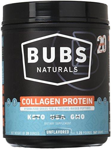 (BUBS Naturals Pasture Raised Grass-Fed Collagen Peptides   Paleo & Keto Diet Friendly   Non - GMO   Dairy-Free Gluten-Free   Mixes Easy   Unflavored Collagen Powder  )