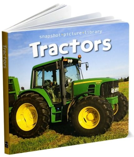 Download Snapshot Picture Library: Tractors Board Book pdf