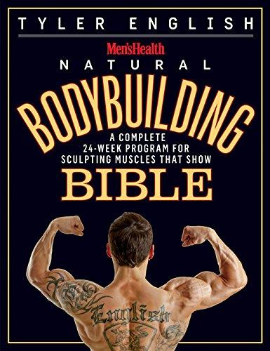 e3a4301a17c Book Cover of Tyler English - Men s Health Natural Bodybuilding Bible  A  Complete 24-