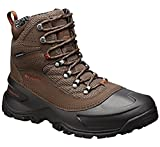 Columbia Mens Snowcross Mid Thermal Coil Waterproof Snow Boots, Brown Leather, 9 M